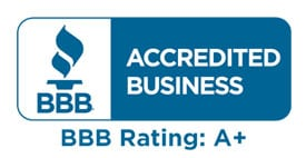 A+ Rating on BBB.org